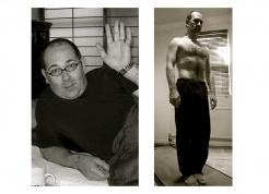 Antes y después de Anthony Grim