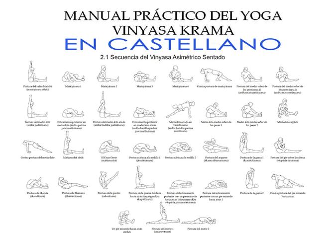 Manual práctico del yoga vinyasa krama en castellano